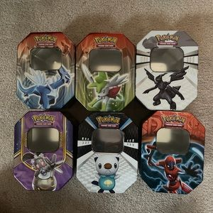 pokémon tin 6 pack bundle